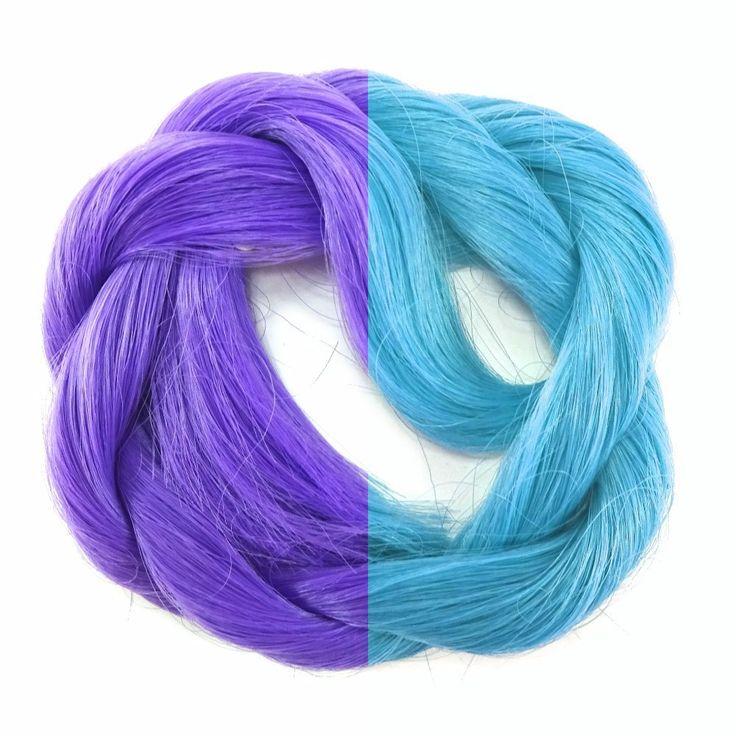 Thermal Pilot Color Change Hair Deep Purple Deep Purple