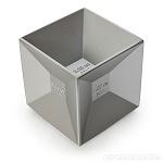 Jigger Cube. Medidor en forma de cubo con 6 caras, cada una de ellas con una medida diferente, la herramienta perfecta para darle la cantidad exacta a cada una de tus bebidas. Cubo Jigger Medidor de aluminio.
