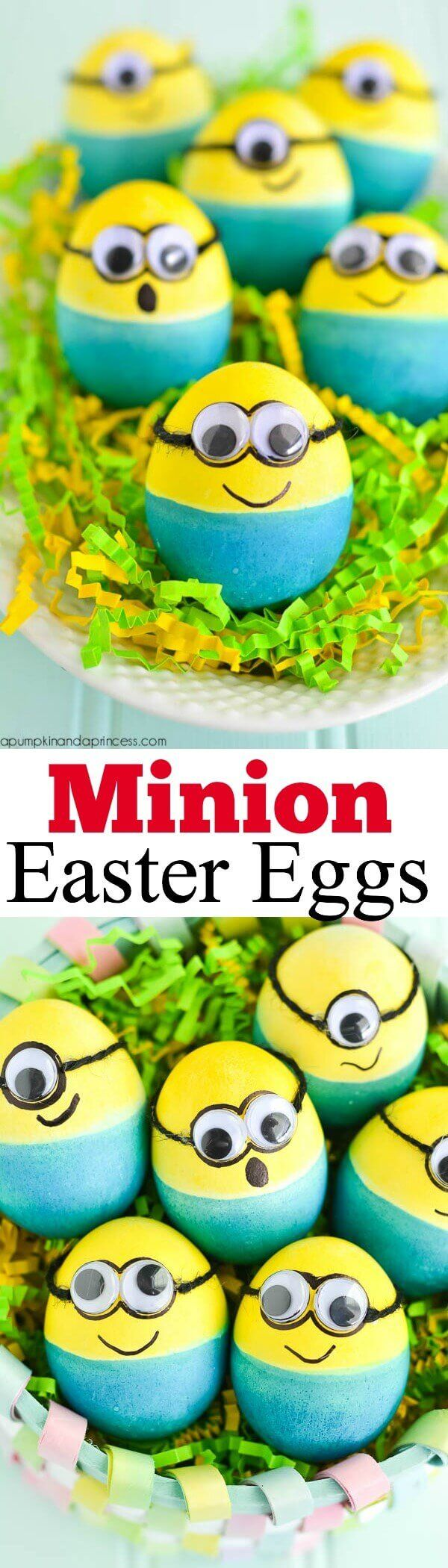 What could be cuter then traditional Easter eggs? Minion Easter eggs!!! Check out this cute ideas for DIY steps!