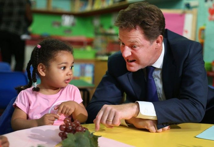 Nick Clegg explains his childcare plans http://www.theweek.co.uk/photos/54920/nick-clegg-explains-childcare-plans-picture