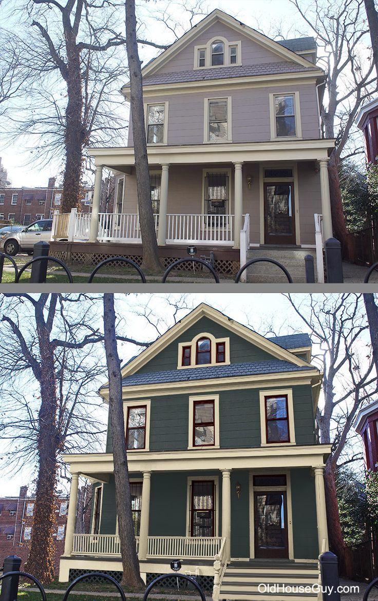 190 Best Old House Restorations Historic Paint Colors