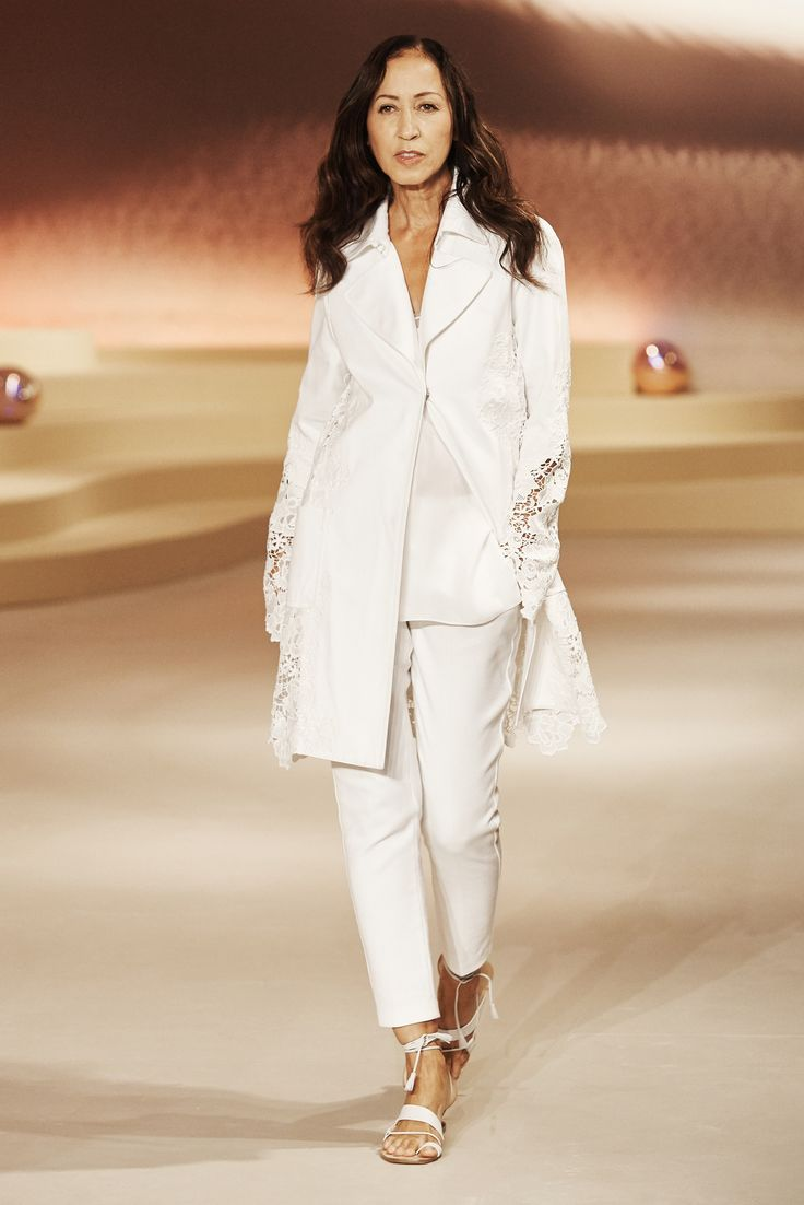 70s Runway Goddess Pat Cleveland. http://www.vogue.com/fashion-shows/spring-2016-ready-to-wear/elie-tahari/slideshow/collection