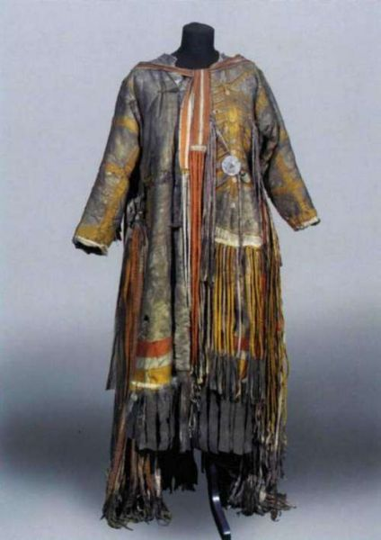 Tofalar shaman's robe, Russia.  Irkutsk Regional Museum of Local Lore.