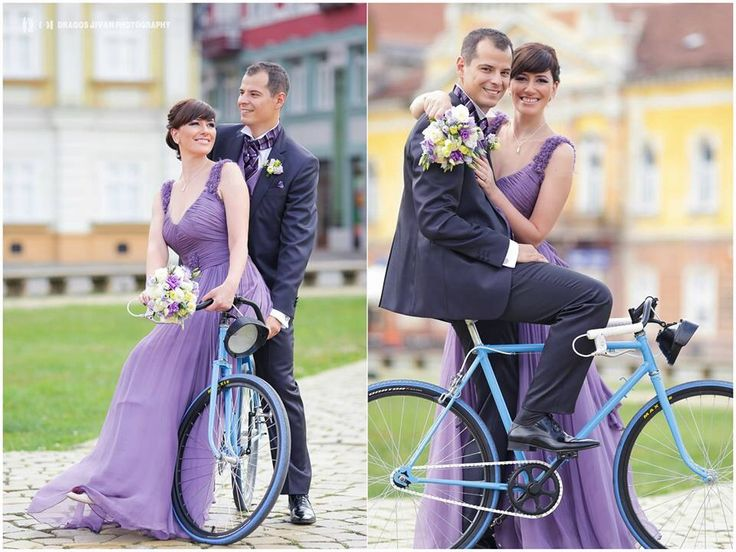 #wedding #bike