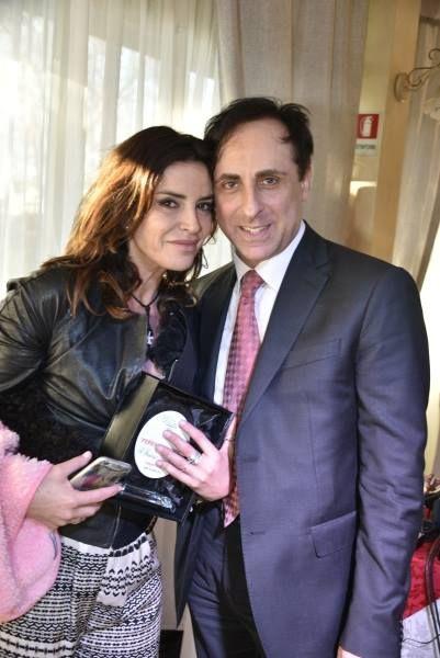 Antonello De Pierro e Francesca Rettondini ospiti al Ferrari Awards di Anzio