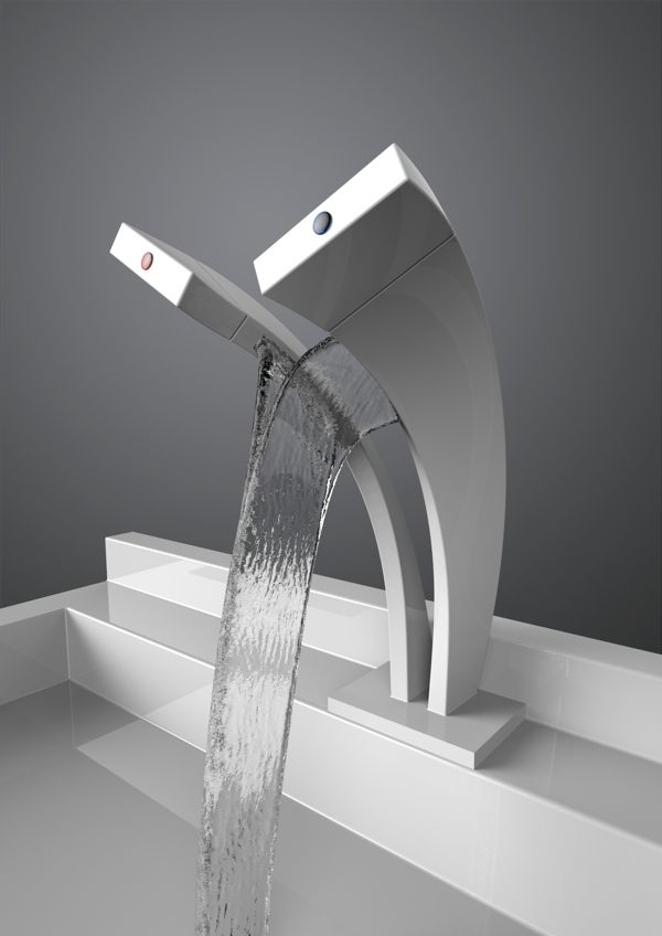 Pavati Tap by Salmon Nortje, via Behance Hope to get one of these for the new bathroom in Glenribbeen Eco Lodge.