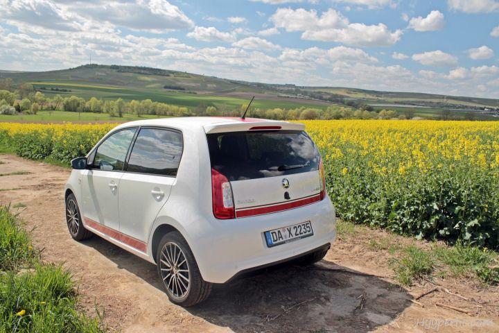 Eine Bildergalerie des Skoda CitiGo G-Tec (Erdgasauto) in der Sport-Variante. Ein Testbericht folgt noch diese Woche: Probefahrt/ Test: Skoda CitiGo G-TEC (Erdgas).
