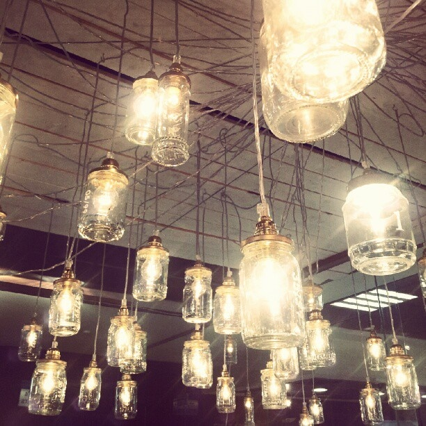 Beautiful Installation From The HIT2012 Graduates   Light Jars / Fireflies  Instagram Photo By @_merin_