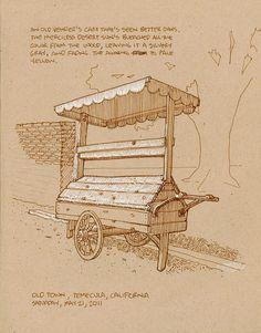 Old Vendor's Cart   Flickr - Photo Sharing!