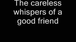 careless whisper lyrics - YouTube