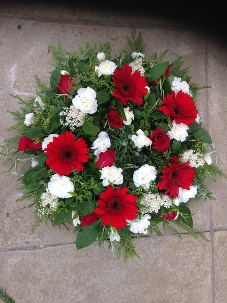 Funeral tribute with a Welsh theme