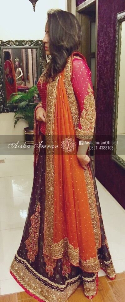 Nice Mehendi outfit                                                                                                                                                                                 More