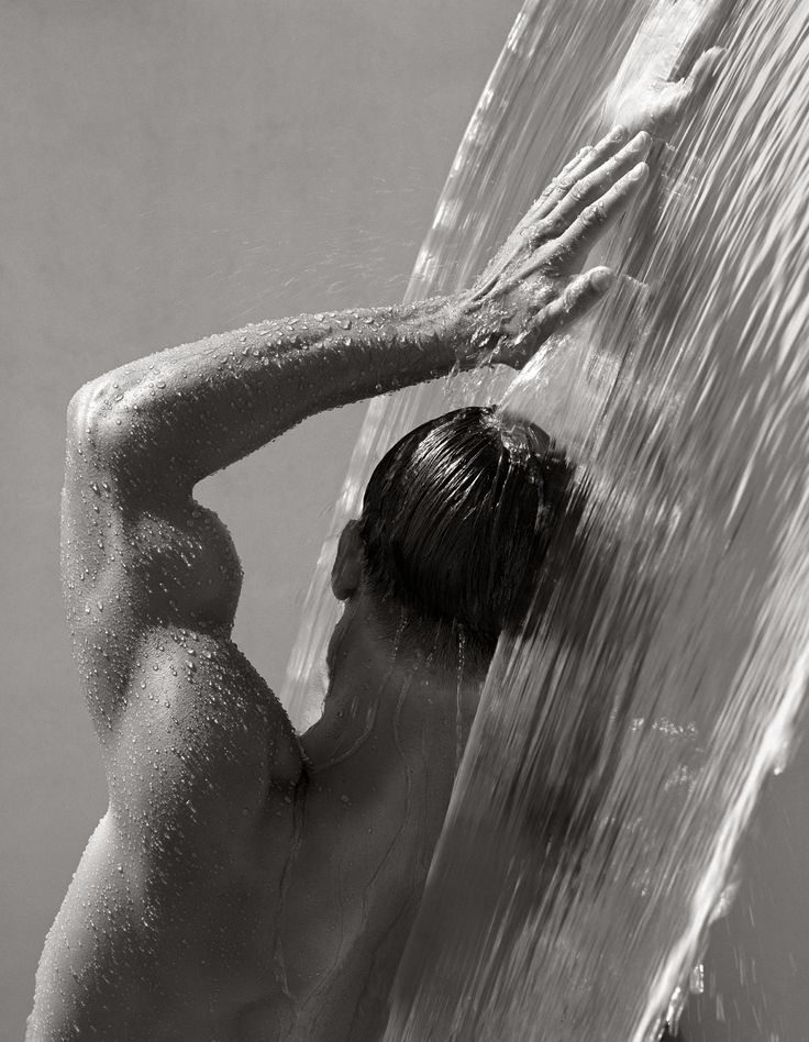 Waterfall IV by Herb Ritts