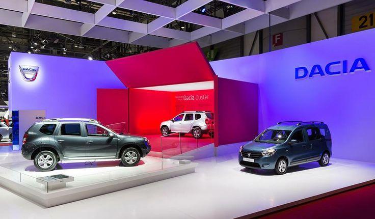 Standul Dacia la ediția 84 a Salonului Auto de la Geneva. Vă place? #Geneva2014