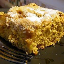 Moist rhubarb cake @ allrecipes.co.uk