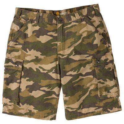 Carhartt Rugged Cargo Camo Shorts for Men - Camo - 40