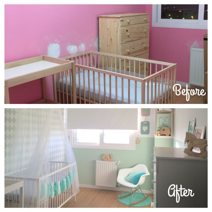 37 best cot nursery furniture paint ideas images on - Cambiador cuna ikea ...