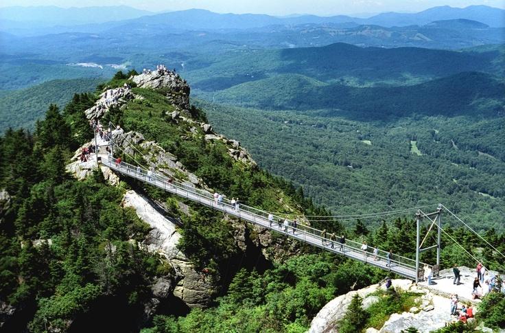 Grandfather Mountain- Swinging Bridge