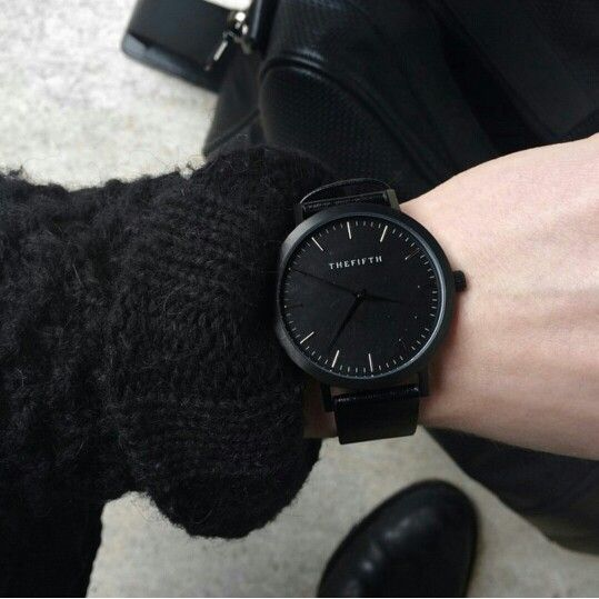 All black everything. The All Black timepiece from our Melbourne range.