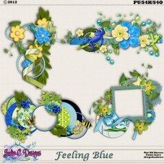 Fleeling Blue Clusters