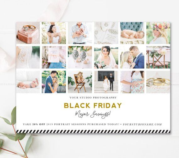 Black Friday Marketing Template Black Friday Photography Etsy Black Friday Photography Photography Templates Black Friday Marketing