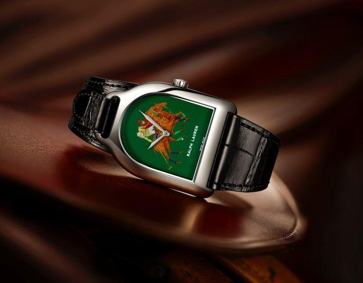 ラルフ ローレンの芸術的腕時計「スティラップ エナメル ダイアル ウォッチ」   GQ JAPAN