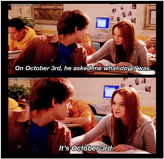 Obligatory October 3rd Post from one of the Greatest Movies of All Time.