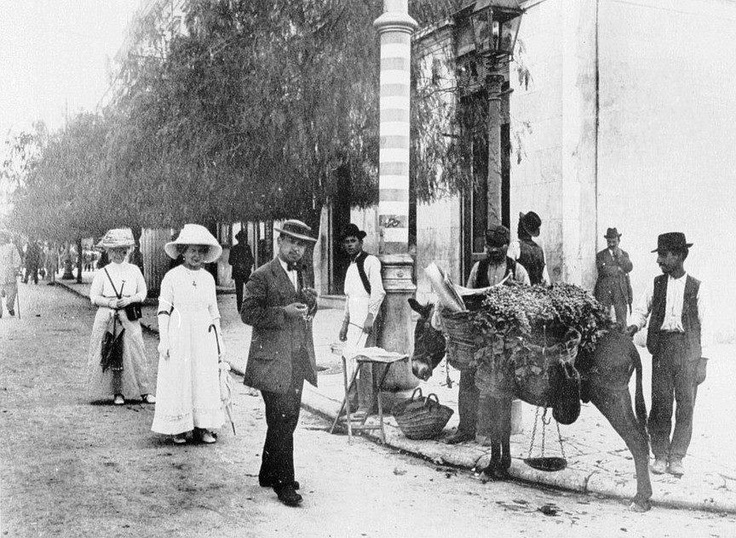 Αθήνα (Πατησίων και Πανεπιστημίου), 1896. Athens, 1896.