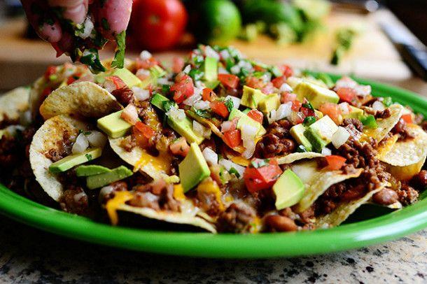 ¡Hola viernes! Para hoy unos ricos nachos mexicanos
