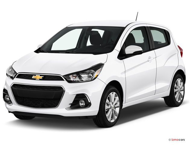 2017 Chevy Spark: 27.2 cu. ft. 2017 Chevrolet Spark: Cargo space jumps to 27.2 cubic feet with the rear seats folded down, but that's still a smaller total than most other hatchbacks offer with the seats folded. However, it is enough room to fit a weekend's worth of luggage or some gear for a beach trip.