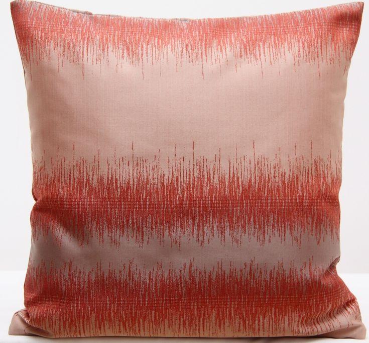 Poszewka na poduszkę w kolorze ceglanym 40x40