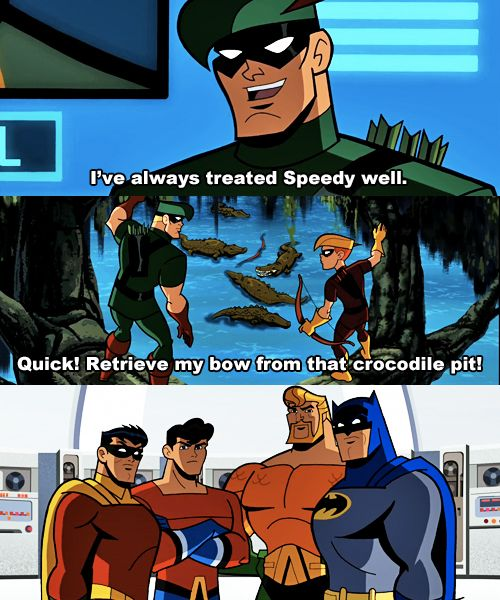 An Green Arrow wonders why he has such bad luck with sidekicks