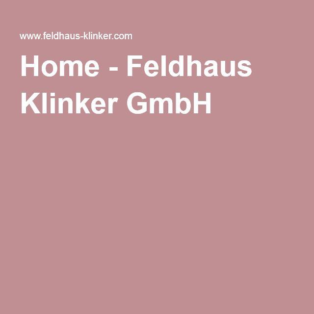 Home - Feldhaus Klinker GmbH
