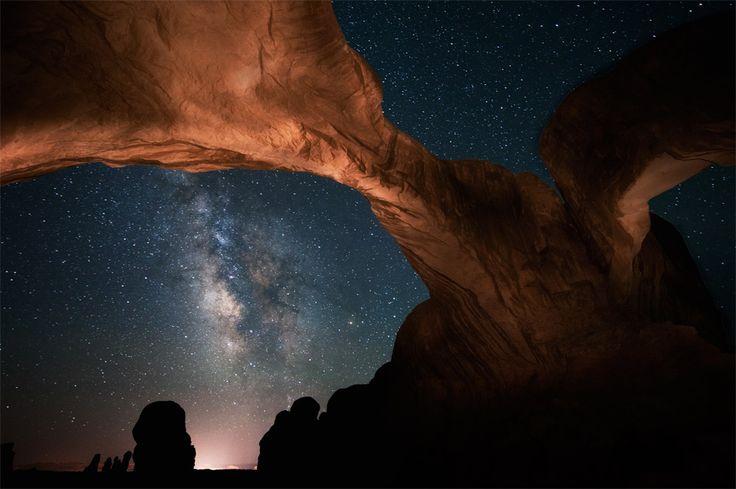 Arches over Utah