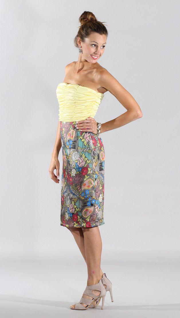 Vestidos - Precioso vestido en lino y seda - hecho a mano por adelaydishop en DaWanda