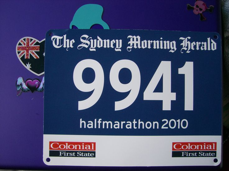 My race number! ...had an amazing time running it. stunning views of beautiful sydney, aim to run it again may 2015. viva life. cardio power pop. ;-)