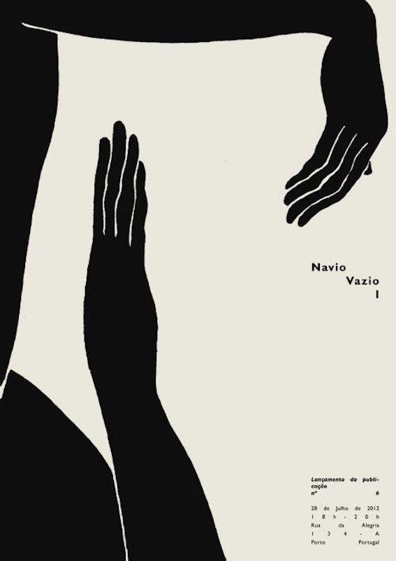 black and white creme graphic design hands