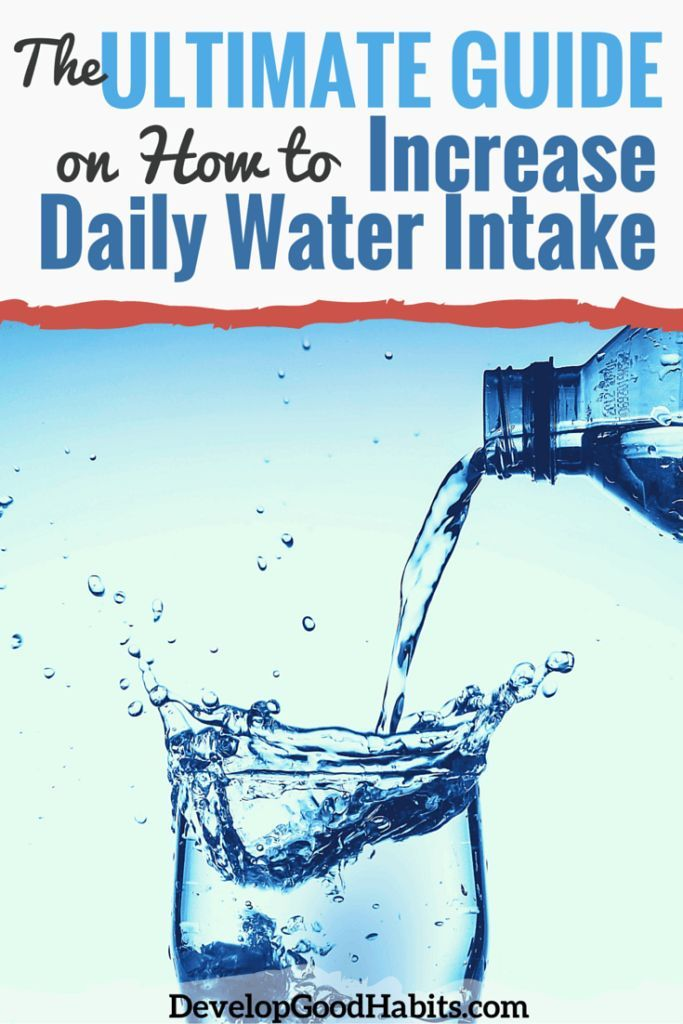 The Ultimate Guide on How to Increase Daily Water Intake. #health #water