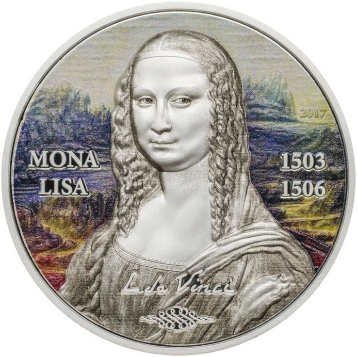 A masterpiece in silver, Numiscollect debut Art Revived coin series with the Mona Lisa - AgAuNEWS