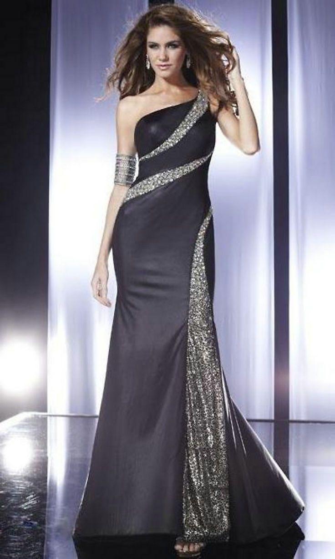 62 besten One Shoulder Prom Dresses Bilder auf Pinterest | Eine ...