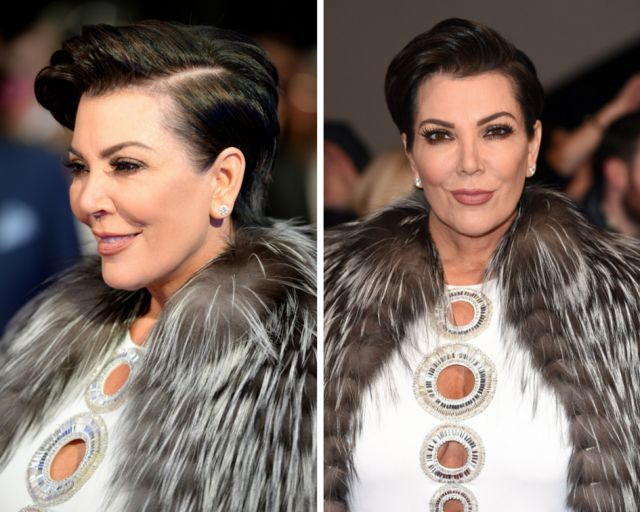 20 Gorgeous Pixie Haircuts on Women Over 50: Kris Jenner's Short, Edgy Haircut