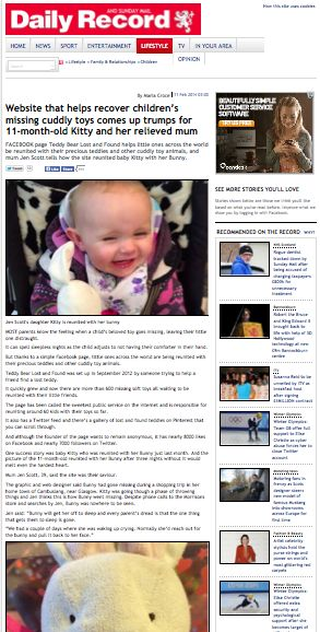Daily Record http://www.dailyrecord.co.uk/lifestyle/family-relationships/website-helps-recover-childrens-missing-3132382