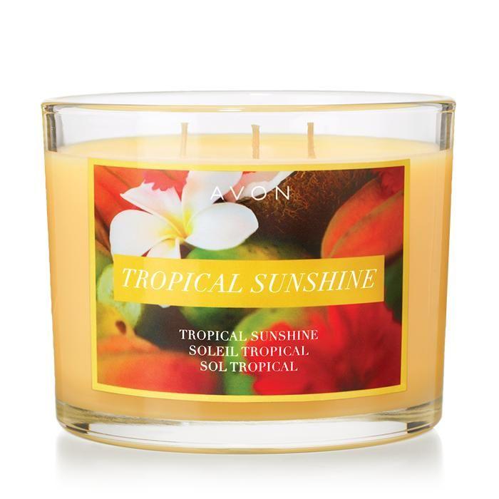 Tropical Sunshine Candle | AVON