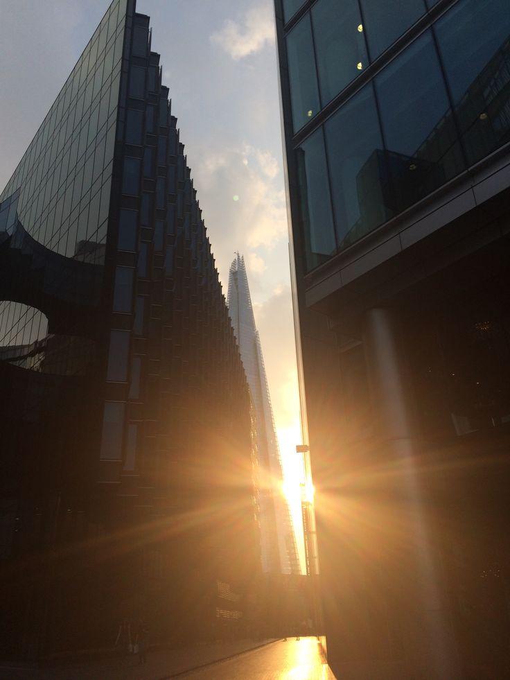 There's Sun in London #shard #towerbridge #london #sunshine