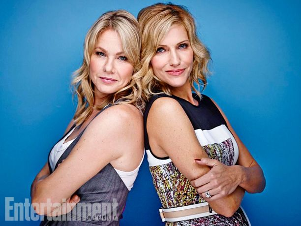 Andrea Roth, Tricia Helfer, Ascension. See more stunning star portraits from our photo studio at San Diego Comic-Con 2014 here: http://www.ew.com/ew/gallery/0,,20399642_20837150,00.html