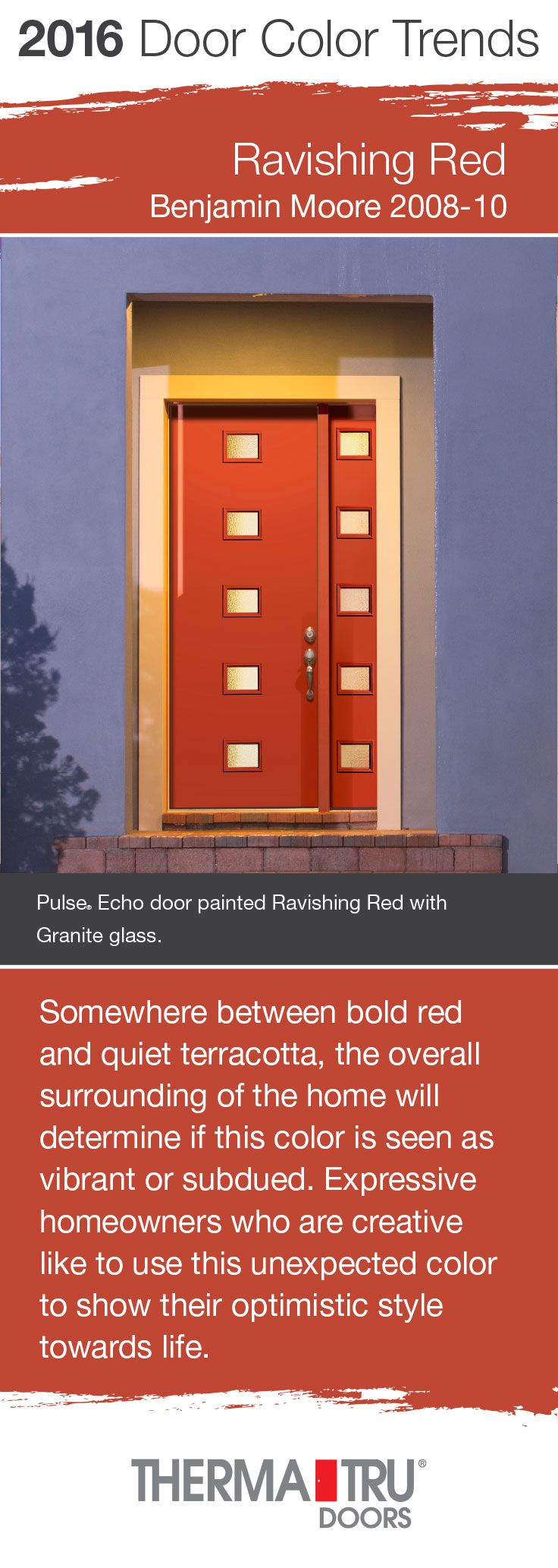 ravishing home show giveaway ideas. Ravishing Red by Benjamin Moore  one of the front door color trends for 2016 51 best Exterior Ideas images on Pinterest Front doors Windows