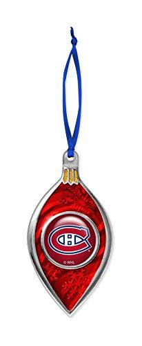 Montreal Canadiens Habs Hockey Christmas Ornament