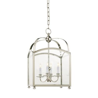 Arched Top Polished Nickel Lantern Chandelier One Of My All Time Favorites