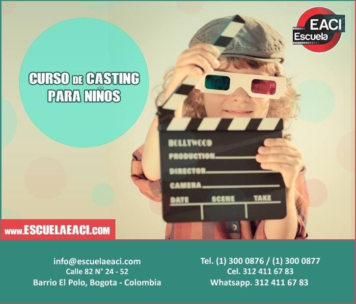Curso de Casting para niños Bogota
