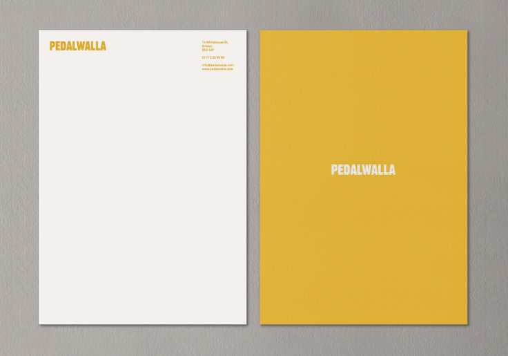 Pedalwalla - Letterhead